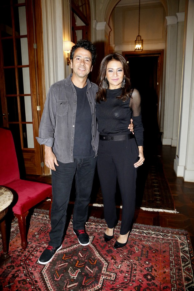 Marcos Palmeira e Dira Paes (Foto: Felipe Assumpção/Léo Marinho/AgNews)