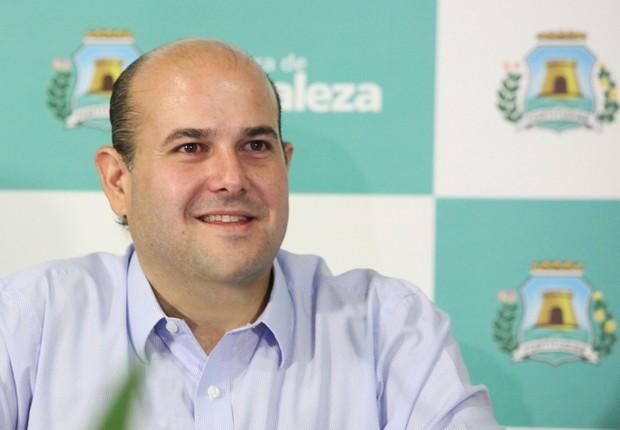 O prefeito de Fortaleza, Roberto Cláudio (PDT) (Foto: Divulgação)
