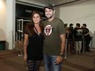 Giovanna Antonelli e Juliana Alves vão a show do Guns N' Roses no Rio