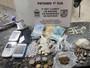 Quatro são detidos em Santo Antônio de Pádua com três tipos de drogas