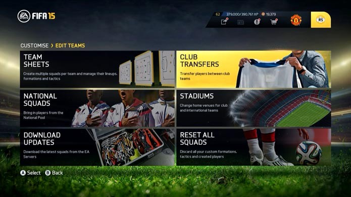 Club Transfers (Foto: Reprodução/Murilo Molina)