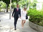 Danielle Winits presta queixa contra Leo Dias após confusão na web