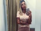 Petra Mattar posta selfie e ausência de sutiã chama atenção