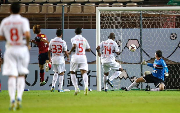 Osako kashima antlers gol são paulo copa suruga (Foto: Agência Reuters)