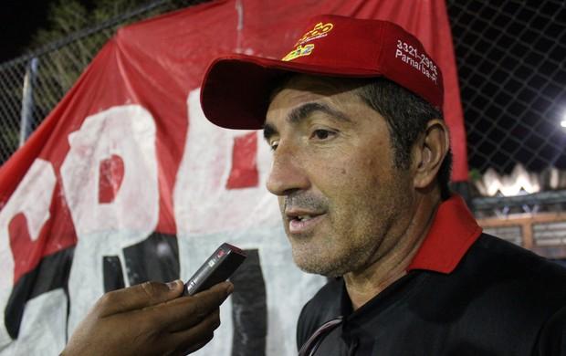 Paulo Moroni, técnico do Flamengo-PI (Foto: Josiel Martins )
