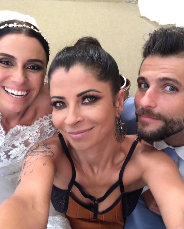 Giovanna Antonelli, Anna Lima e Bruno Gagliasso (Foto: Reprodução / Instagram)