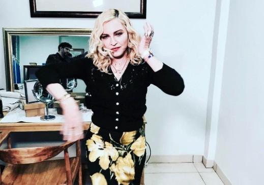 Madonna inaugura o Mercy James Centre, dedicado à pediatria, nesta terça-feira (11), no Malauí (Foto: Reprodução/ Instagram)