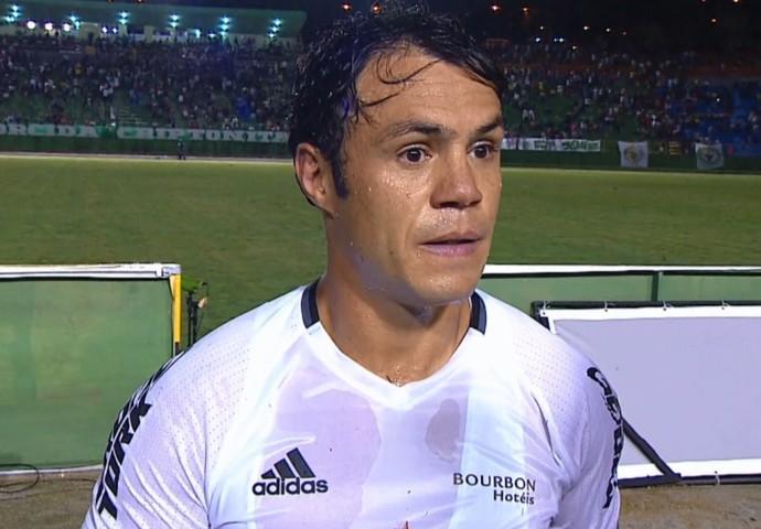 Kleber Gladiador Coritiba (Foto: Reprodução/SporTV)