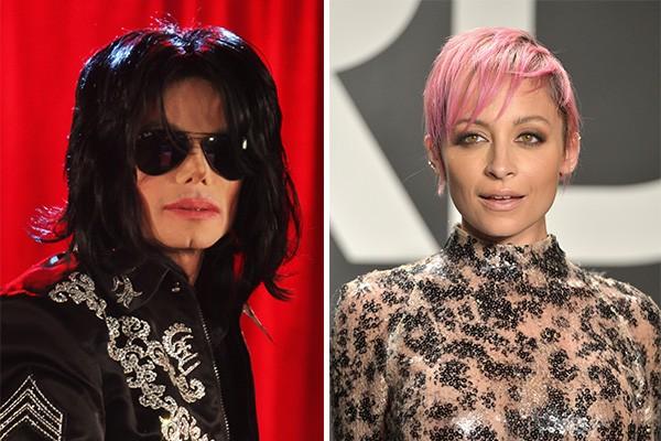 Além de ter Quincy Jones como padrinho, Nicole Ritchie era afilhada de Michael Jackson (Foto: Getty Images)
