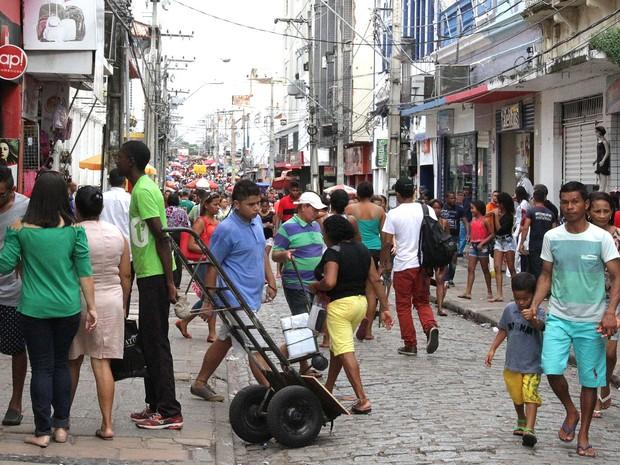 Comércio fecha as portas durante feriadão de Carnaval em São Luís (MA) (Foto: De Jesus / O Estado)