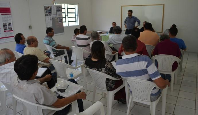 Reunião do Gol de Placa, Paraíba (Foto: Larissa Keren / GloboEsporte.com/pb)