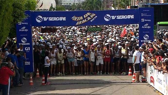 Volta de Aracaju (Foto: Reprodução/TV Sergipe)