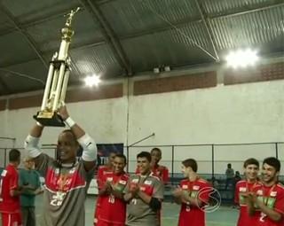 Três Rios vence Volta Redonda por WO (Foto: Reprodução: RJTV 1ª Edição)