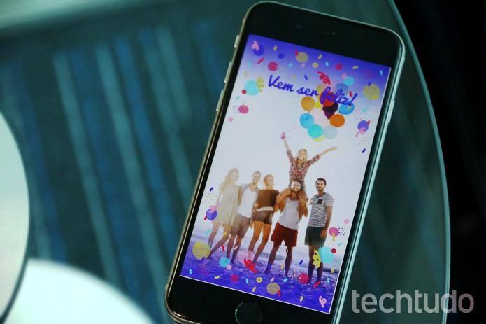 Snapchat (Foto: Carolina Ochsendorf/ TechTudo)