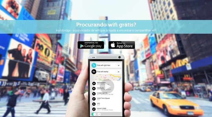 Instabridge conecta WiFi ao seu Android ou iOS (Foto: Divulgação/Instabridge)
