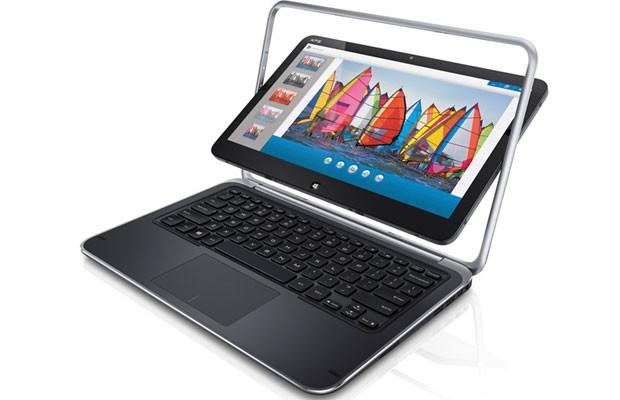 Modelo XPS 12, da Dell, une recursos de tablets e ultrabooks  (Foto: Divulgação)