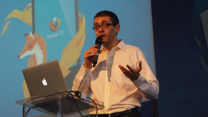 Andreas Gal, chefe de tecnologia da Mozilla (Foto: Reprodução/ Comunidade Mozilla Brasil)