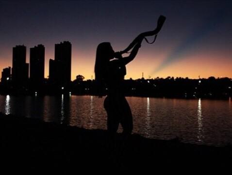Vanusa Hoppe, Miss Bumbum Mato Grosso do Sul: ela é conhecida como Miss Bumbum Sertaneja em sua cidade (Foto: Divulgação MBB4)