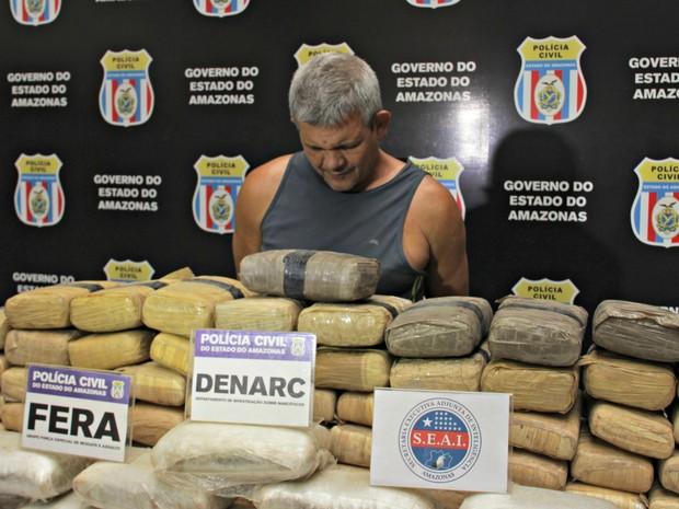 Glaucinei já tinha passagem pela polícia pelo mesmo crime (Foto: Ísis Capistrano/ G1 AM)