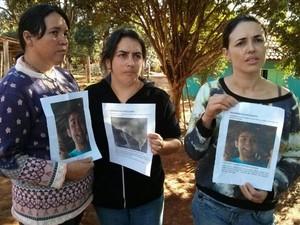 Família procura por jovem há mais de 40 dias (Foto: Cláudio Nascimento/ TV TEM)