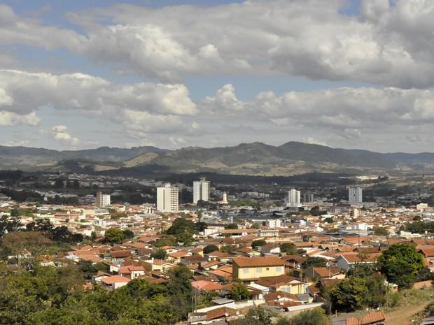 Andradas está localizada aos pés da Serra da Mantiqueira, no Sul de Minas Gerais. (Foto: Lúcia Ribeiro/ G1)