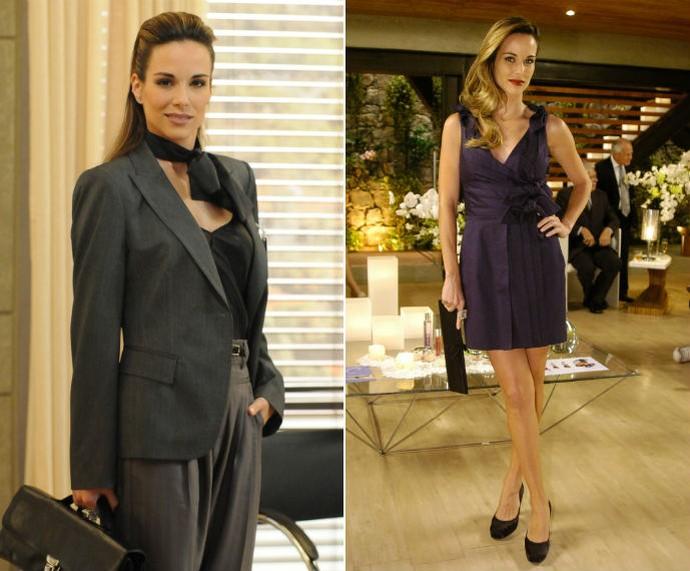 Gabi, personagem de Ana Furtado em 'Caminho das Índias', era uma executiva super elegante (Foto: TV Globo)