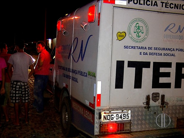 Crime aconteceu na noite desta segunda-feira (4) em Macaíba, RN (Foto: Reprodução/Inter TV Cabugi)