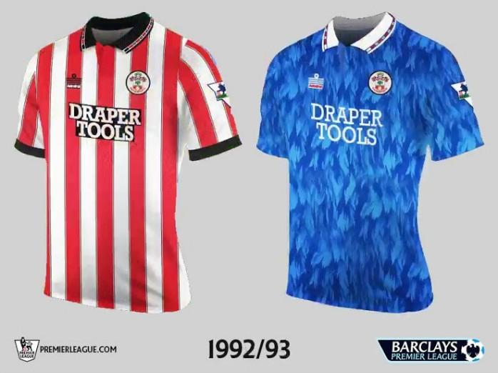 Southampton Premier League Retrô