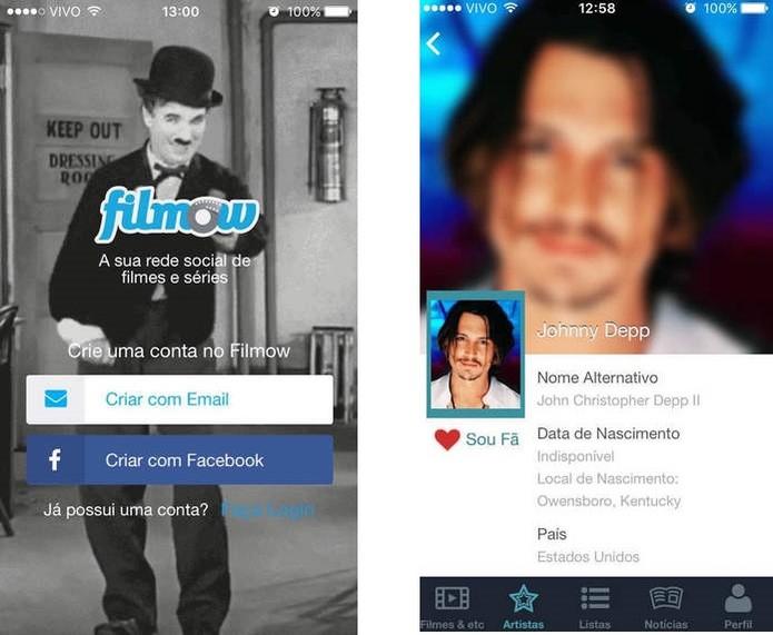 Filmow é uma rede social para amantes de cinema (Reprodução/Carol Danelli)