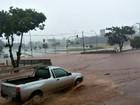Córrego transborda e casal some durante chuva em MS, diz bombeiro