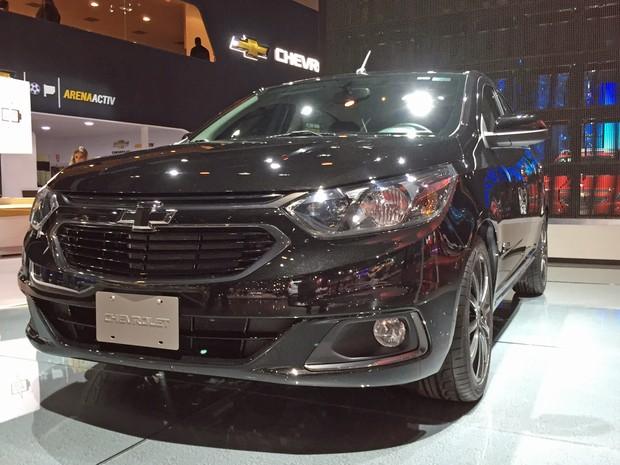 Chevrolet Cobalt Midnighr (Foto: André Paixão/G1)