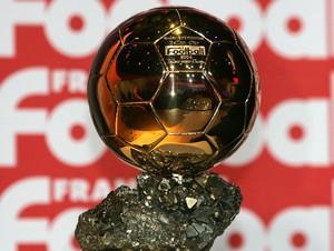 Ballon D'or, a Bola de Ouro da revista France Football (Foto: Reprodução)