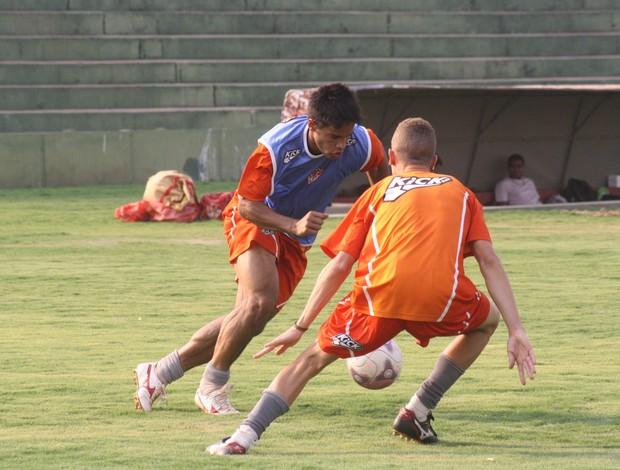 Treino Uberaba Sport (Foto: Enerson Cleiton)