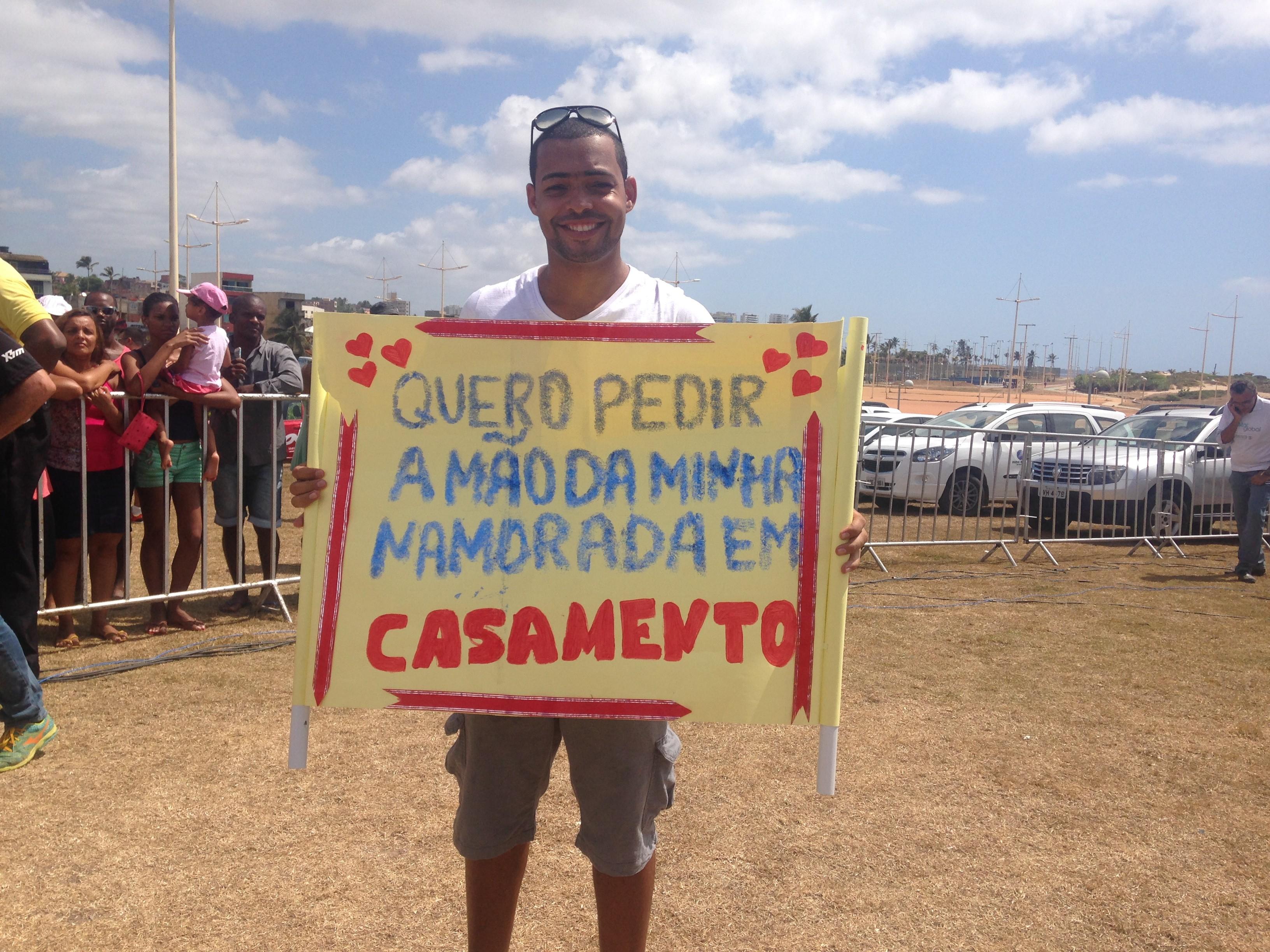 Bem Estar Global em Salvador (Foto: Felipe Ribeiro)