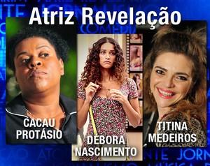 Atriz Revelação (Foto: Domingão do Faustão / TV Globo)