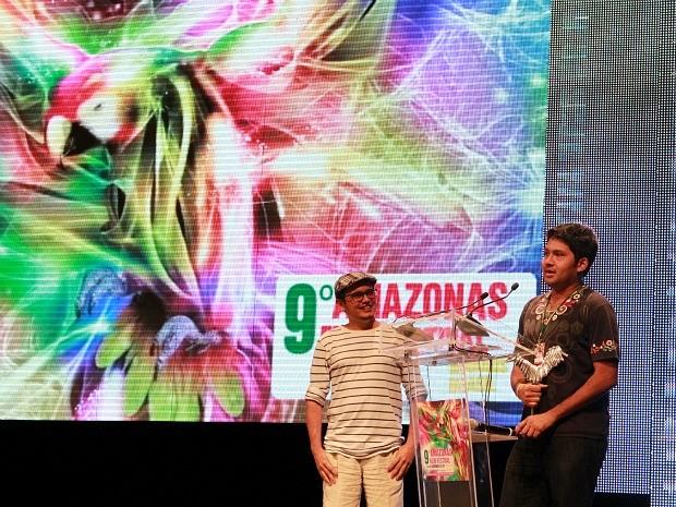 Rafael Ramos ganhou prêmio de melhor diretor com 'A Segunda Balada' no Amazonas Film Festival (Foto: Mônica Dias/G1 AM)