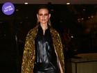 Look do dia: Top Behati Prinsloo arrasa em evento de moda em São Paulo