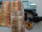 Homem é preso com pistola, munição e dinheiro na BR-210, no Amapá