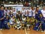 Rio de Janeiro conquista título do Sul-Americano sem perder um set