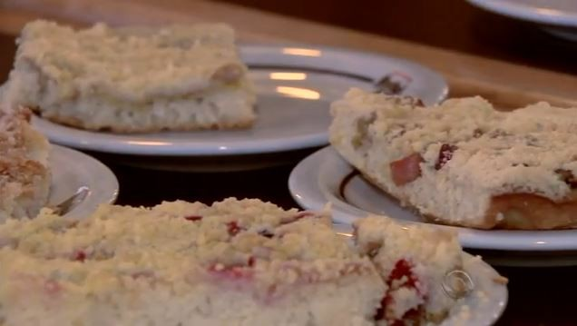 Cucas são uma das especialidades da gastronomia de Joinville (Foto: Reprodução RBS TV)