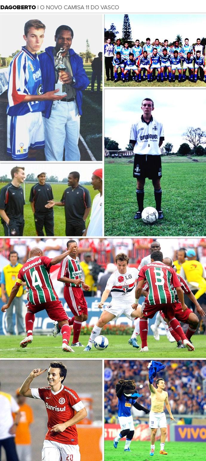 Mosaico Dagoberto (Foto: Globoesporte.com)