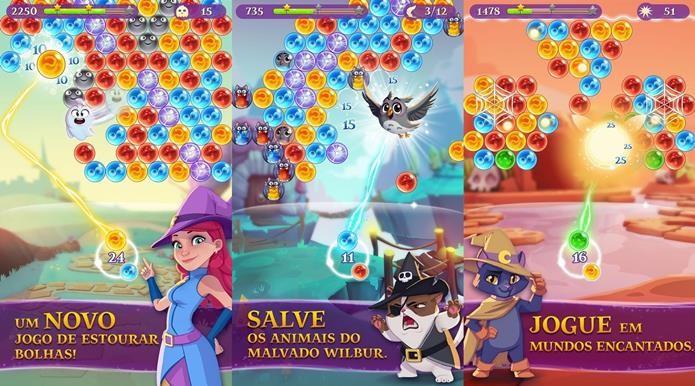 Wilbur, na realidade, é Bubble Witch Saga 3 (Foto: Reprodução / King)