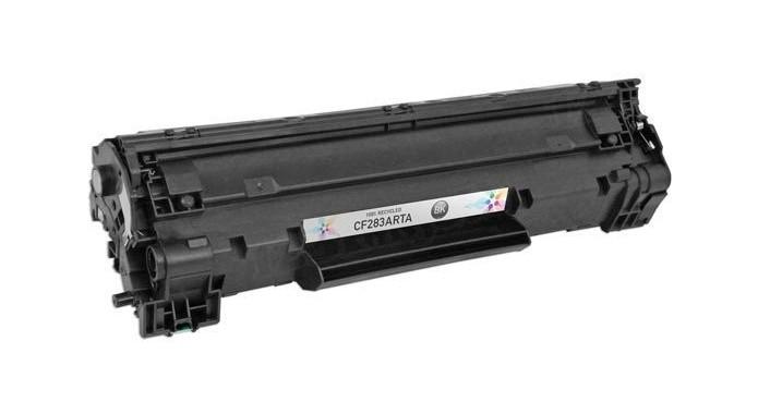 Modelo de toner de impressora a laser (Foto: Divulgação/HP)