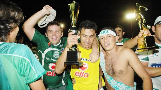 Edmundo, campeão pelo Nacional de Patos (Foto: Leonardo Silva)