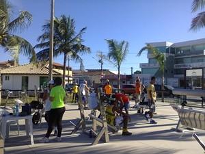 Musculação tem inscrições abertas na academia popular (Foto: Divulgação / Prefeitura)