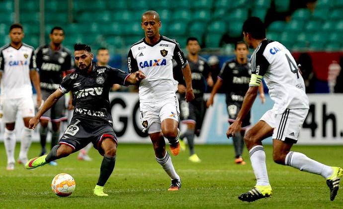 Bahia; Sport; Fonte Nova; Sul-Americana; Maxi Biancucchi (Foto: Felipe Oliveira / Divulgação / EC Bahia)