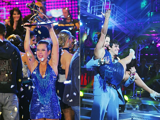 Em 2010, a atriz venceu a sétima edição do Dança dos Famosos e brilhou como Thaísa de Ti Ti Ti. (Foto: Zé Paulo Cardeal / TV Globo)
