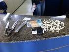 Homem é preso com cocaína no bairro Boa União, em Três Rios, RJ