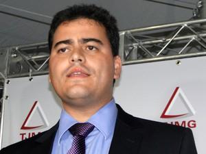 Tiago Lenoir, advogado de BRuno Fernandes (Foto: Pedro Cunha / G1)