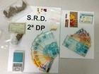 Dupla é presa com 81 selos de LSD, maconha, ecstasy e MDMA no DF